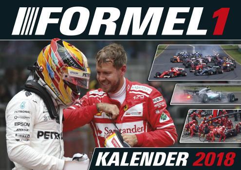 F1 Kalender 2018 Cover