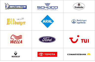Industriepartner Logos