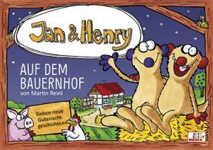 Jan & Henry auf dem Bauernhof