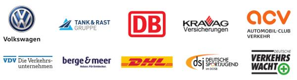 Käpt'n Blaubär Partner Logos 2017